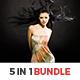 5 In 1 Lightroom Presets Bundle - GraphicRiver Item for Sale