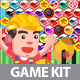 Flat Laborer Shooting Game Kit - GraphicRiver Item for Sale