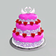Wedding Cake - 3DOcean Item for Sale