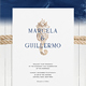 Wedding Invitation Suite - Nautical Vibes - GraphicRiver Item for Sale