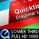 Diagonal Lower Third - VideoHive Item for Sale