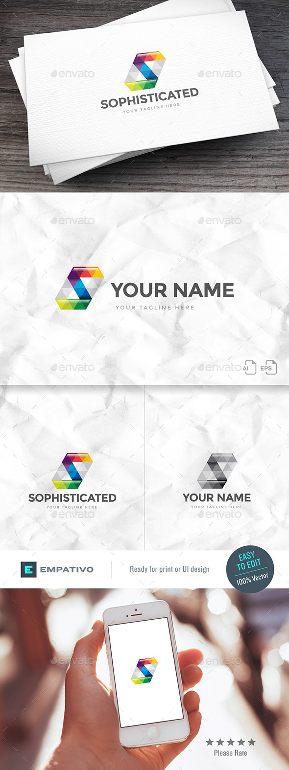 Sophisticated Letter S Logo Template