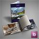 Ski Resort Hotel Brochure Portrait & Landscape Versions - GraphicRiver Item for Sale