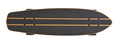 Black and wooden skate board isolated - PhotoDune Item for Sale
