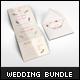Wedding Invitations Mockups Bundle - GraphicRiver Item for Sale