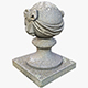 Stone Ball on Pillar - 3DOcean Item for Sale