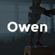 Owen - Personal trainer & Sport  One Page Landing WordPress theme - ThemeForest Item for Sale