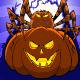 Pumpkin and Spider Cartoon - GraphicRiver Item for Sale
