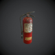 Fire extinguisher pbr - 3DOcean Item for Sale