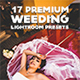 Premium Wedding Lightroom Presets - GraphicRiver Item for Sale