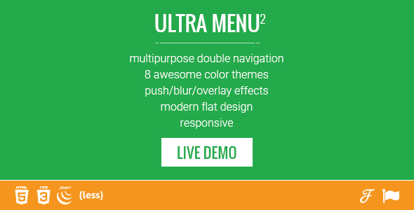 Mobile First Double Responsive Navigation Menu Download