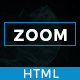 Responsive One Page Parallax - Zoom - ThemeForest Item for Sale