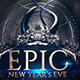 NYE  Poster - GraphicRiver Item for Sale