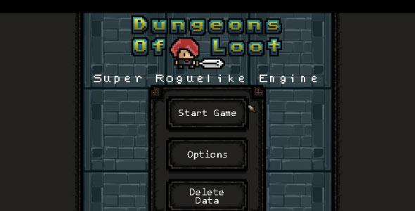 Super Roguelike Engine - Desktop Edition - For Construct 2