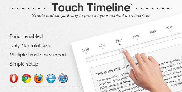 Timeline Horizontal Plugins, Code & Scripts from CodeCanyon