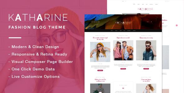 Katharine - Modern Fashion Blog Theme