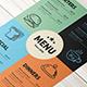 Vintage Restaurant Menu Template - GraphicRiver Item for Sale