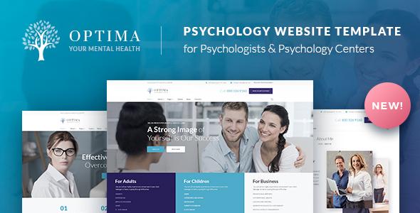 Optima - Psychologist & Psychology Center HTML
