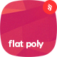 Abstract Flat Polygonal Geometric Backgrounds - GraphicRiver Item for Sale