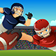 American Football Players Playing Football in a Stadium - GraphicRiver Item for Sale