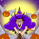 Witch and  Flying Pumpkins - GraphicRiver Item for Sale