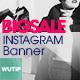 10 Instagram Post Banner-Big Sale - GraphicRiver Item for Sale
