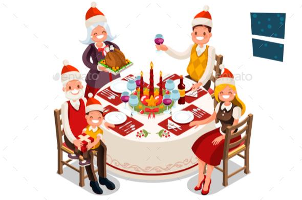 Christmas Eve Family Dinner Party