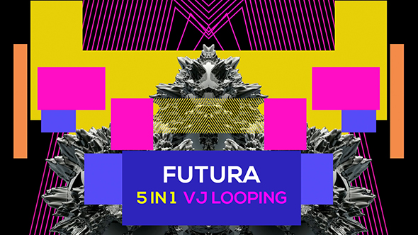 Futura 5 in 1 Vj Loop by Lahansubur