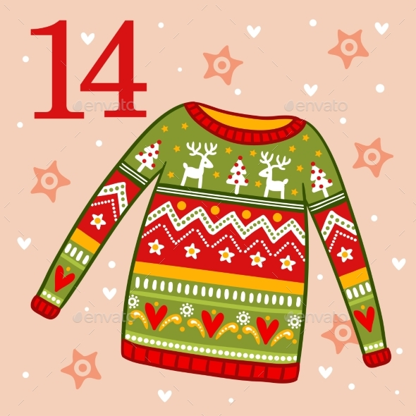 Christmas Sweater with Ornament