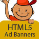 Play School - HTML5 Ad Banners - 08 Sizes - CodeCanyon Item for Sale