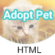 Cuddle Love Pet - A Complete Pet Shop, Job Directory HTML5 Template. - ThemeForest Item for Sale