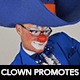 Clown Promotes - VideoHive Item for Sale