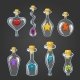 Big Set with Different Magic Elixir - GraphicRiver Item for Sale