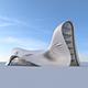 Futuristic building - 3DOcean Item for Sale