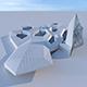 Futuristic building 3 - 3DOcean Item for Sale