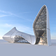 Futuristic building 2 - 3DOcean Item for Sale