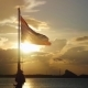 Ko Samui, Thailand, Very Famous Place for Tourist, Beautiful Sunset View Thai Flag at International - VideoHive Item for Sale