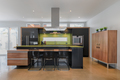 Modern kitchen with green quartz counter top - PhotoDune Item for Sale