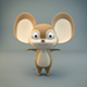 Cartoon Mouse - 3DOcean Item for Sale