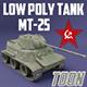 MT-25 USSR Toon Tank *Big* - 3DOcean Item for Sale