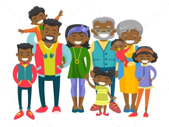Extended Smiling Family