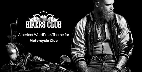Bikersclub - Motorcycle Responsive WordPress Theme