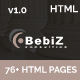 bebiz - Business and Corporate HTML5 Template - ThemeForest Item for Sale