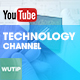 5 Tech Channel - Youtube Banner Template - GraphicRiver Item for Sale