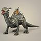 Game Ready Fantasy Monster Dragon - 3DOcean Item for Sale