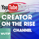 5 Creator on the Rise Chanel-Youtube Banners Template - GraphicRiver Item for Sale