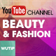 5 Beauty & Fashion Chanel-Youtube Banners Template- - GraphicRiver Item for Sale