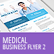 Medical Business Flyer Template 2 - GraphicRiver Item for Sale