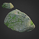 3d scanned nature stone 014 - 3DOcean Item for Sale