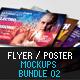 Flyer Poster Mockups Bundle 02 - GraphicRiver Item for Sale